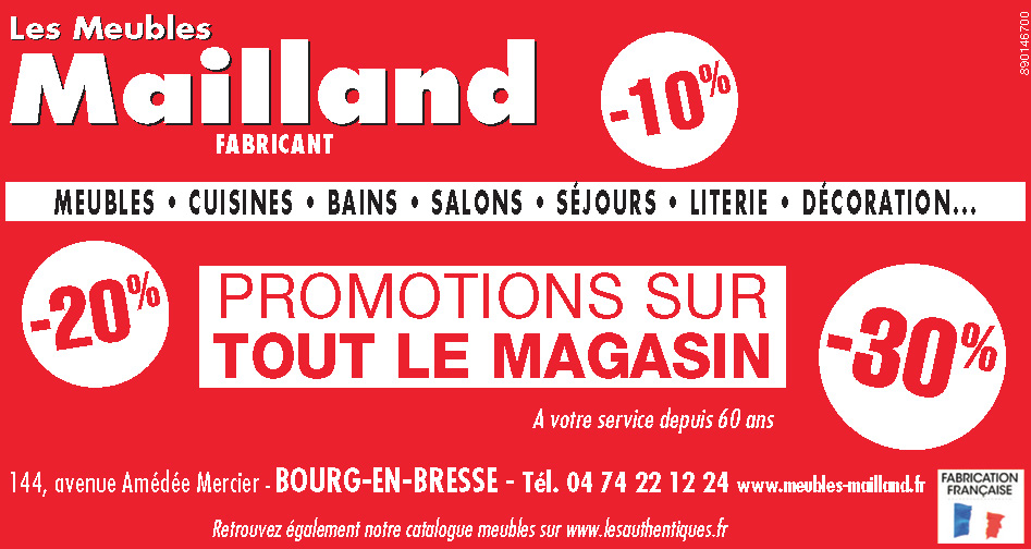 Soldes Meubles Mailland